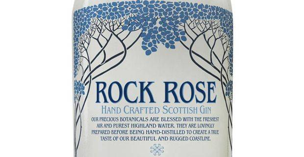 Rock Rose Scottish Gin, Caithness