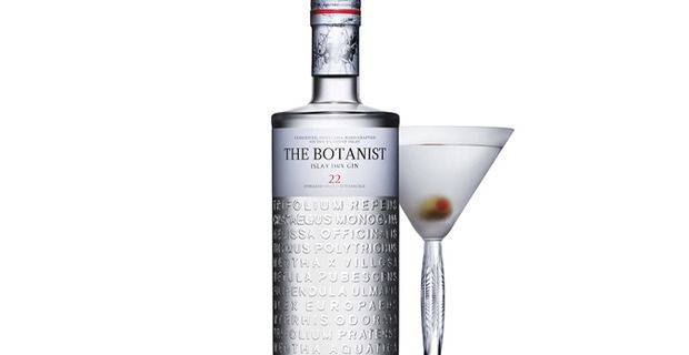 The Botanist Gin - image by kind permission of Bruichladdich Distillery