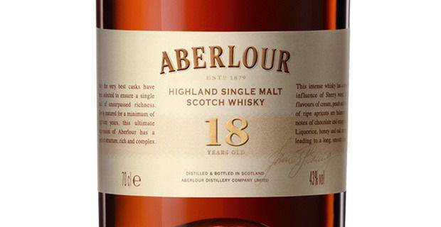 Aberlour Malt Whisky - image kind permission of Pernod Ricard