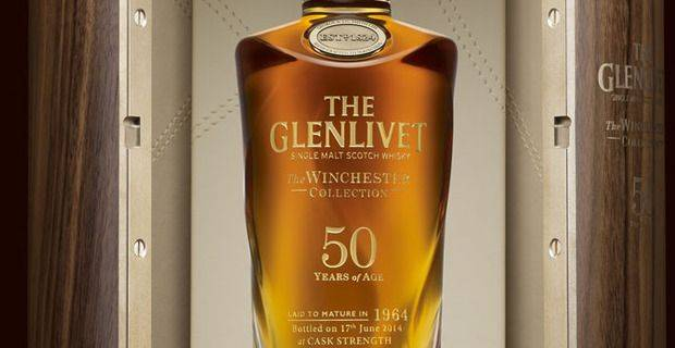 The Glenlivet 50 Year Old - image kind permission of Glenlivet Distillery