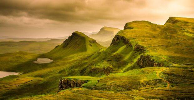 Scotland - Isle of Skye, Quiraing